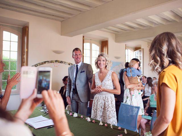 Le mariage de Benjamin et Stephanie à Boisset-les-Prévanches, Eure 34