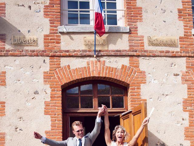 Le mariage de Benjamin et Stephanie à Boisset-les-Prévanches, Eure 44