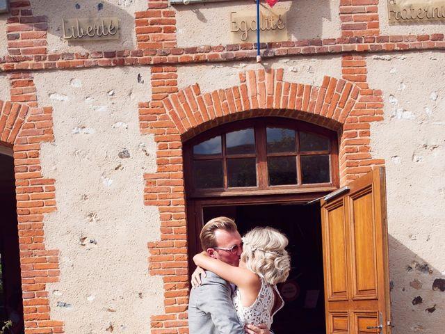 Le mariage de Benjamin et Stephanie à Boisset-les-Prévanches, Eure 45