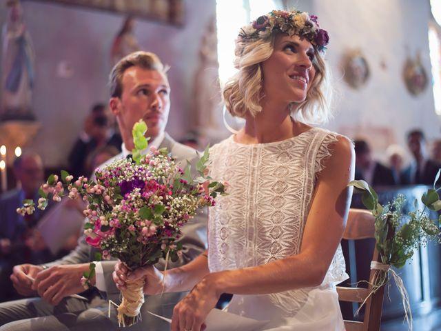 Le mariage de Benjamin et Stephanie à Boisset-les-Prévanches, Eure 63