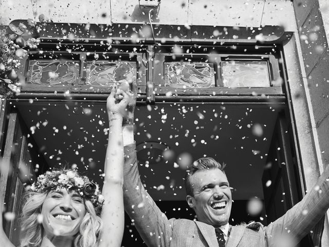 Le mariage de Benjamin et Stephanie à Boisset-les-Prévanches, Eure 78