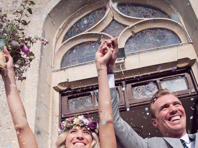 Le mariage de Benjamin et Stephanie à Boisset-les-Prévanches, Eure 79
