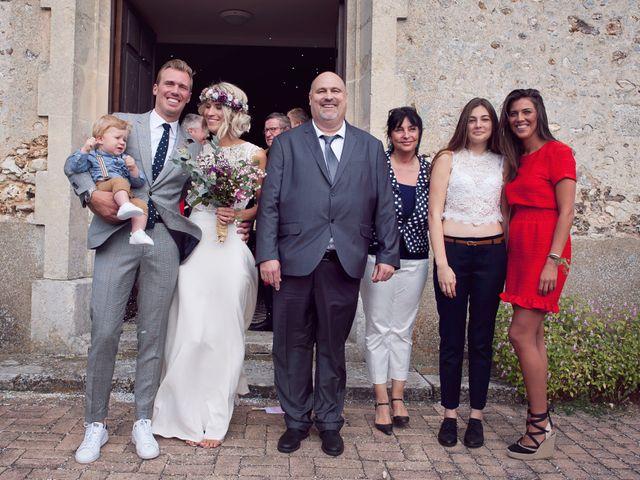 Le mariage de Benjamin et Stephanie à Boisset-les-Prévanches, Eure 83