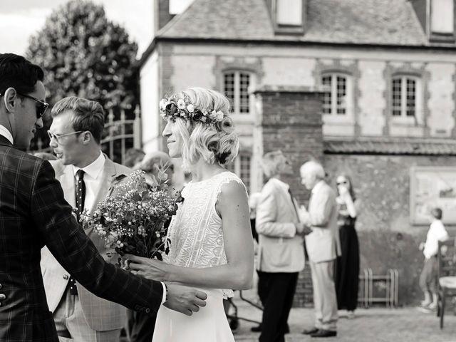 Le mariage de Benjamin et Stephanie à Boisset-les-Prévanches, Eure 84
