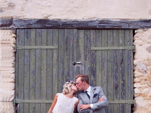 Le mariage de Benjamin et Stephanie à Boisset-les-Prévanches, Eure 90