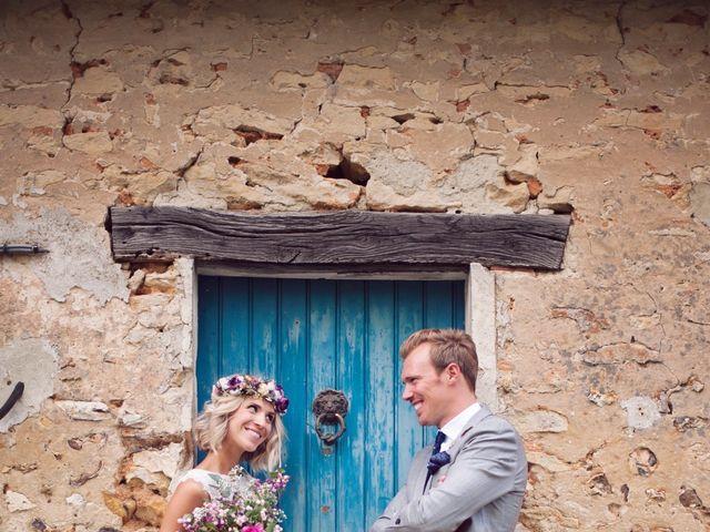 Le mariage de Benjamin et Stephanie à Boisset-les-Prévanches, Eure 93