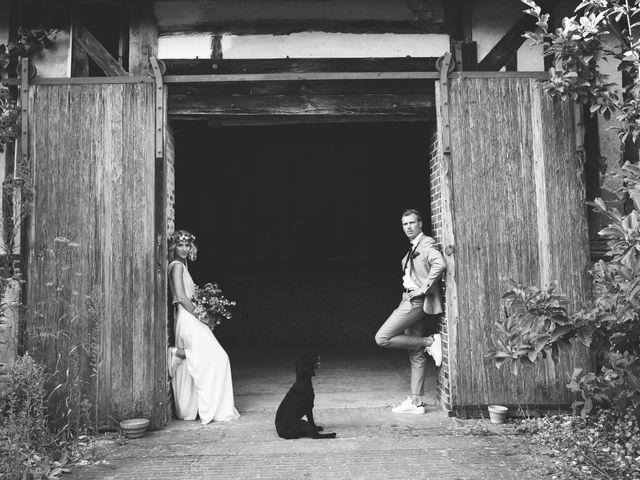 Le mariage de Benjamin et Stephanie à Boisset-les-Prévanches, Eure 100