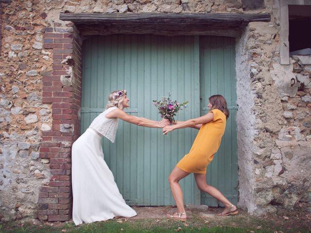 Le mariage de Benjamin et Stephanie à Boisset-les-Prévanches, Eure 123