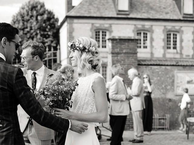 Le mariage de Benjamin et Stephanie à Boisset-les-Prévanches, Eure 173