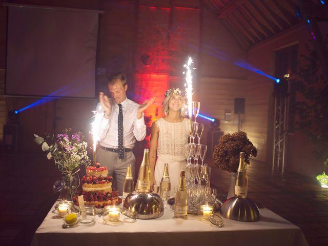 Le mariage de Benjamin et Stephanie à Boisset-les-Prévanches, Eure 201