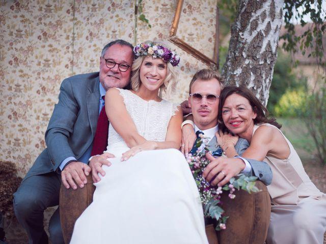 Le mariage de Benjamin et Stephanie à Boisset-les-Prévanches, Eure 215