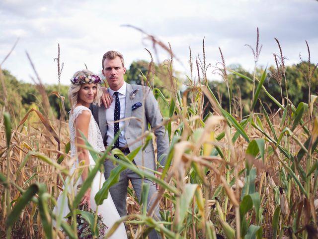 Le mariage de Benjamin et Stephanie à Boisset-les-Prévanches, Eure 222