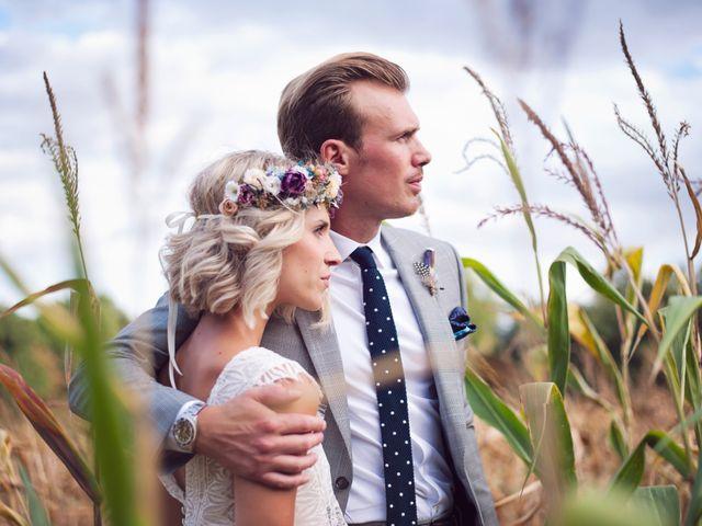Le mariage de Benjamin et Stephanie à Boisset-les-Prévanches, Eure 223