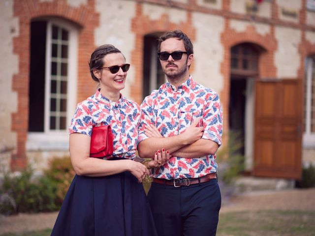 Le mariage de Benjamin et Stephanie à Boisset-les-Prévanches, Eure 238