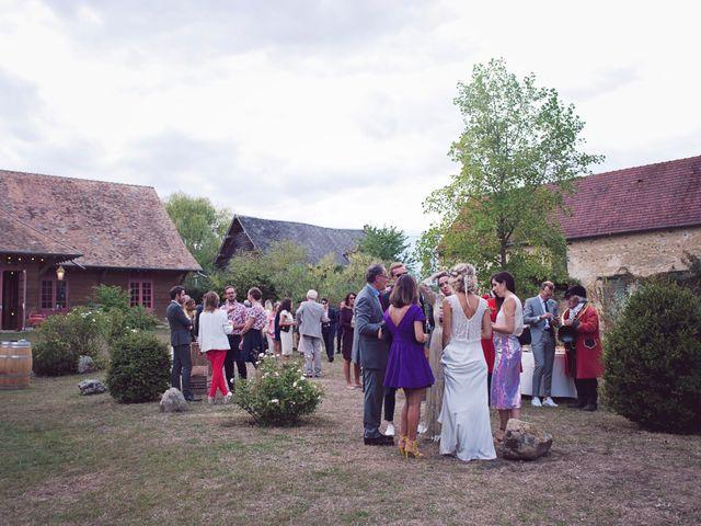 Le mariage de Benjamin et Stephanie à Boisset-les-Prévanches, Eure 274