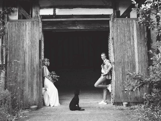 Le mariage de Benjamin et Stephanie à Boisset-les-Prévanches, Eure 280