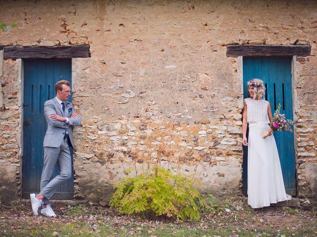 Le mariage de Benjamin et Stephanie à Boisset-les-Prévanches, Eure 281
