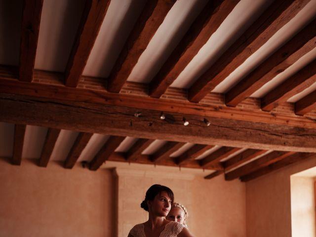Le mariage de Hubert et Sigrid à Parigné-l'Évêque, Sarthe 9