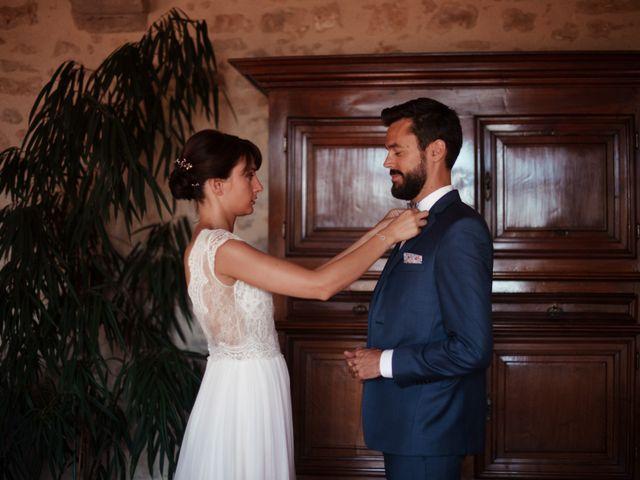 Le mariage de Hubert et Sigrid à Parigné-l'Évêque, Sarthe 14