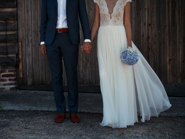 Le mariage de Hubert et Sigrid à Parigné-l'Évêque, Sarthe 1