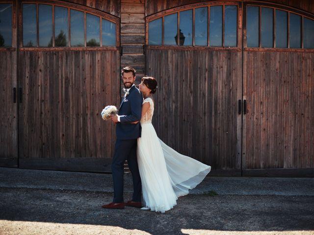 Le mariage de Hubert et Sigrid à Parigné-l'Évêque, Sarthe 22
