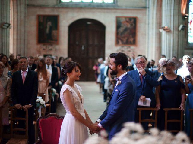 Le mariage de Hubert et Sigrid à Parigné-l'Évêque, Sarthe 32