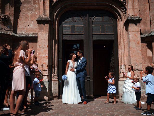 Le mariage de Hubert et Sigrid à Parigné-l'Évêque, Sarthe 40