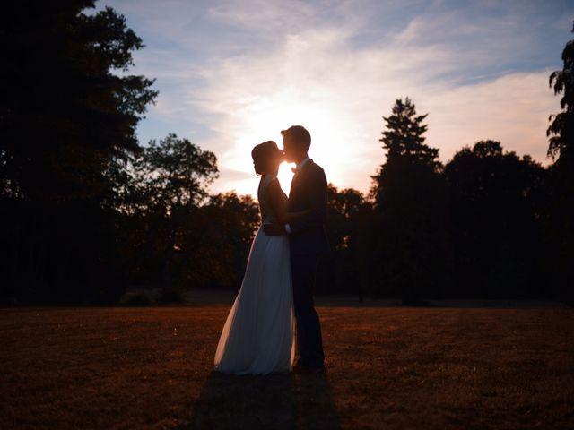 Le mariage de Hubert et Sigrid à Parigné-l'Évêque, Sarthe 84
