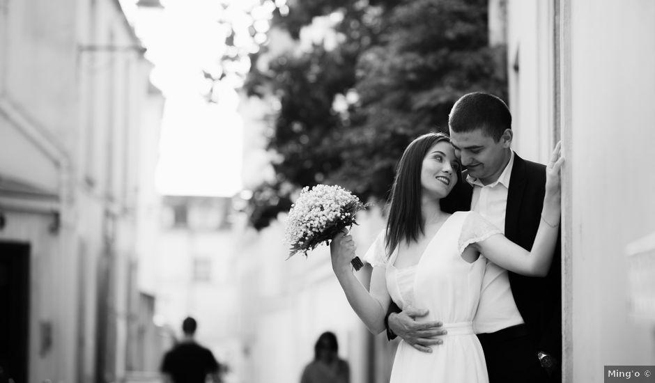 Le mariage de Mihaela et Dumitru à Paris, Paris