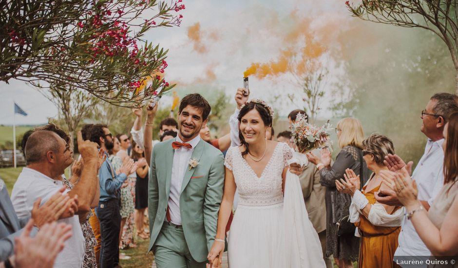 Le mariage de Florian et Noémie à Auch, Gers