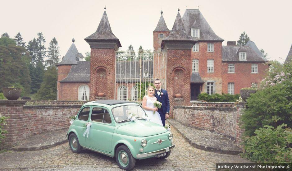 Le mariage de Clement et Cécile à Monceau-Saint-Waast, Nord