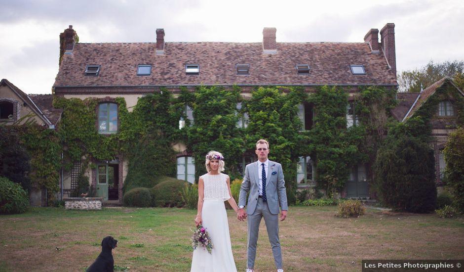 Le mariage de Benjamin et Stephanie à Boisset-les-Prévanches, Eure
