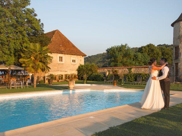 Le mariage de Ludo et Maud à Vignieu, Isère 14
