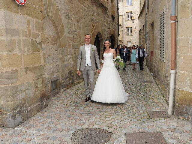 Le mariage de Valentin et Elodie à Excideuil, Dordogne 1