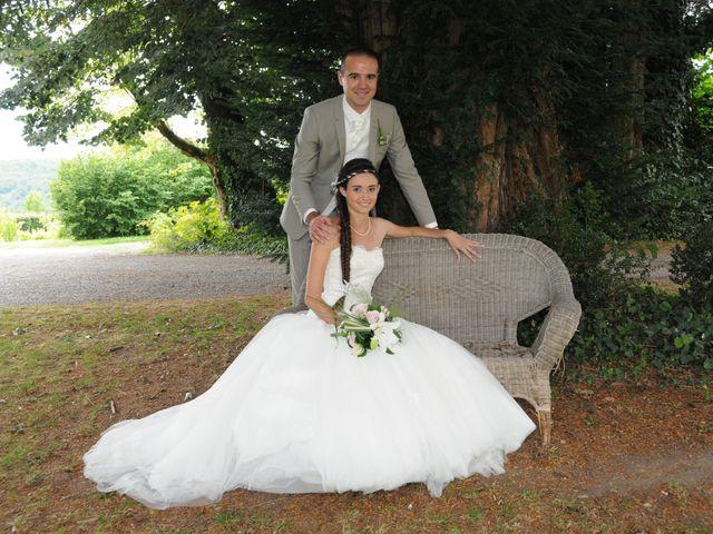 Le mariage de Valentin et Elodie à Excideuil, Dordogne 6