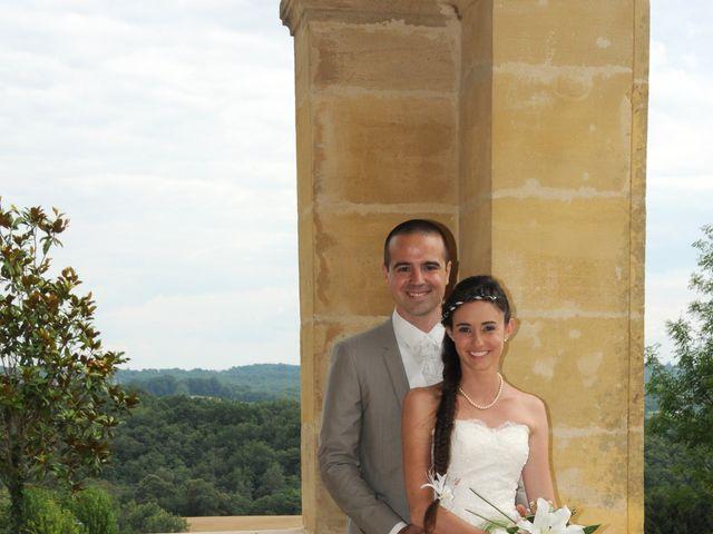 Le mariage de Valentin et Elodie à Excideuil, Dordogne 9