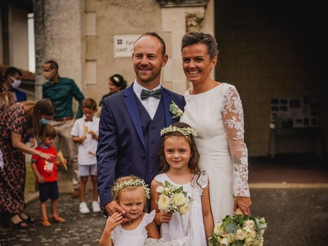 Le mariage de Joffrey et Elodie à Beylongue, Landes 8