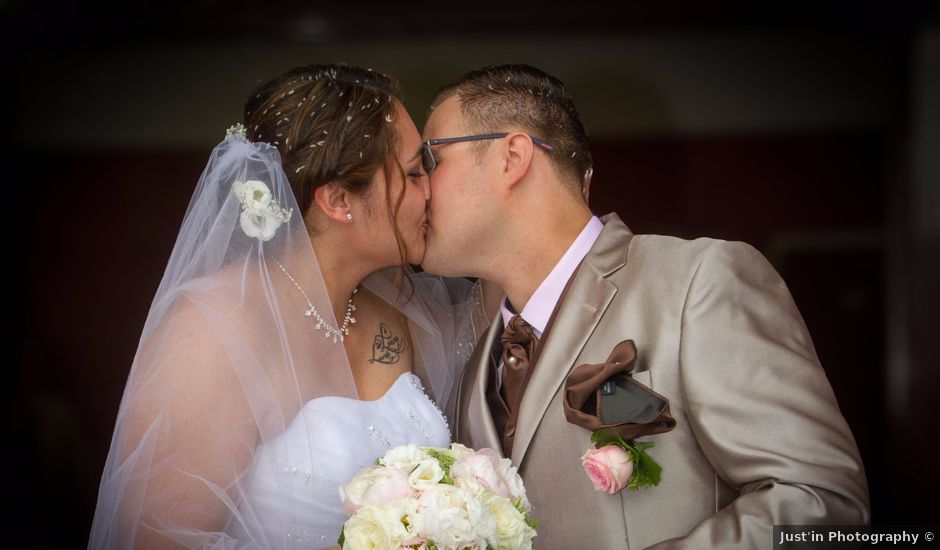 Le mariage de Yoann et Aurélie à Beaucroissant, Isère