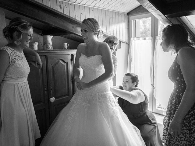 Le mariage de Julien et Louise à Saint-Romain-de-Monpazier, Dordogne 8