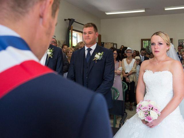 Le mariage de Julien et Louise à Saint-Romain-de-Monpazier, Dordogne 17