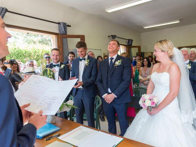 Le mariage de Julien et Louise à Saint-Romain-de-Monpazier, Dordogne 18