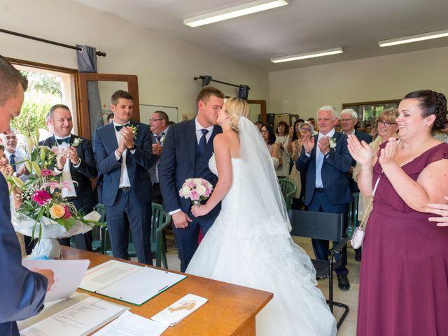 Le mariage de Julien et Louise à Saint-Romain-de-Monpazier, Dordogne 19