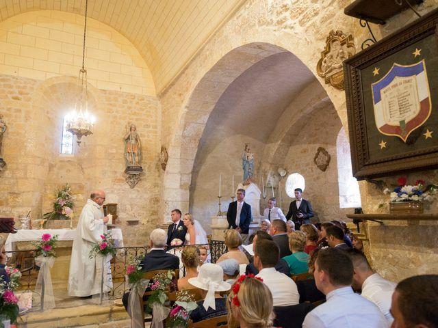 Le mariage de Julien et Louise à Saint-Romain-de-Monpazier, Dordogne 23