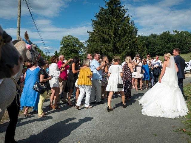 Le mariage de Julien et Louise à Saint-Romain-de-Monpazier, Dordogne 28