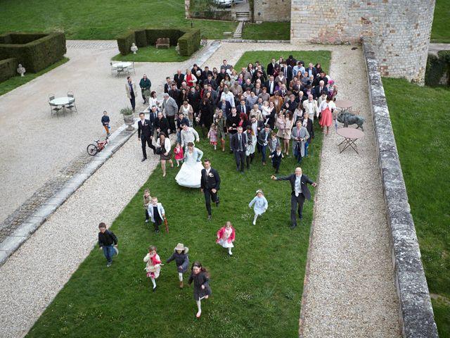 Le mariage de Romain et Elise à Vallery, Yonne 6