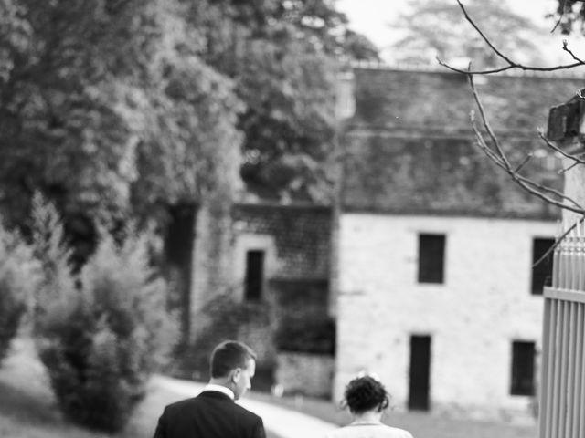 Le mariage de Romain et Elise à Vallery, Yonne 7