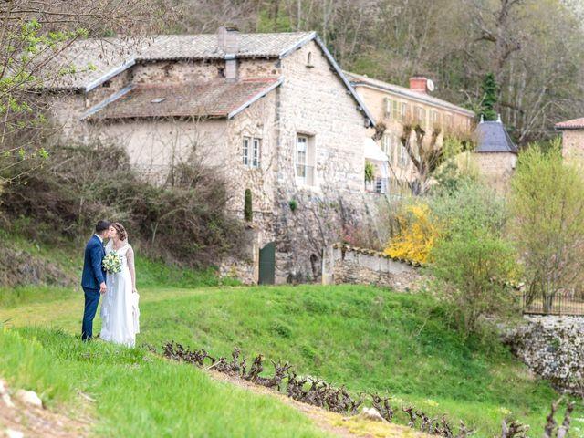 Le mariage de Gauthier et Sandra à Beaujeu, Rhône 8