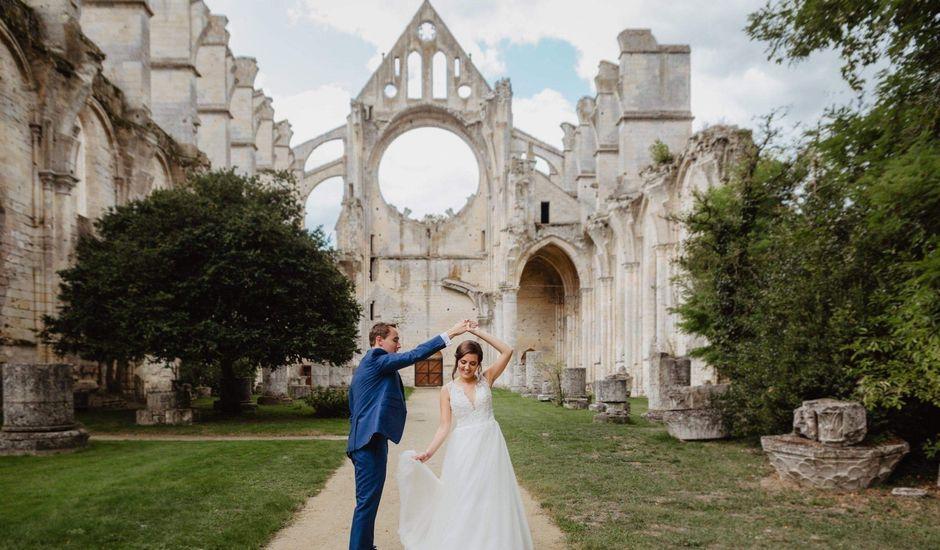 Le mariage de Clement et Laure à Longpont, Aisne