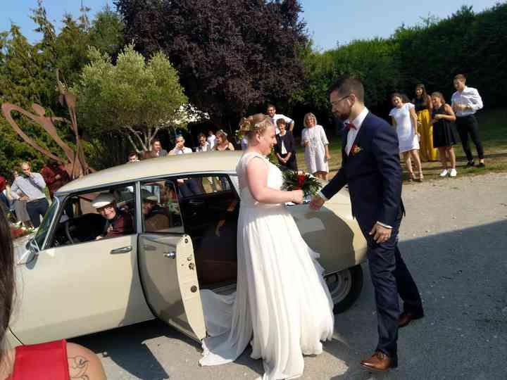 Le mariage de Elodie et Dylan