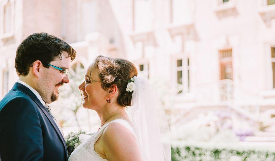 Le mariage de Matthieu et Marie à Liverdun, Meurthe-et-Moselle